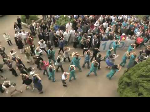 100th Anniversary Flash Mob