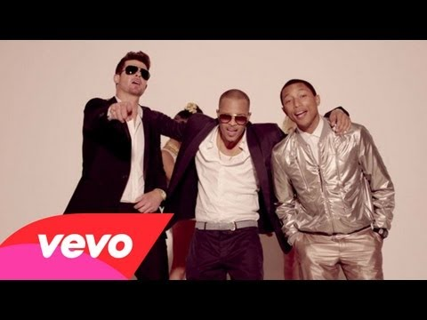 Blurred Lines – Robin Thicke ft. T.I Pharrell (Official Music Video!)