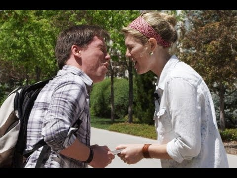 Shocking Kissing Prank