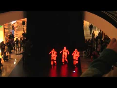 A Light Show Flash Mob