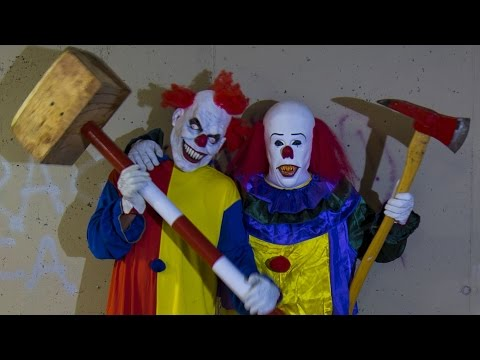 Clown And Uncle Killing Prank