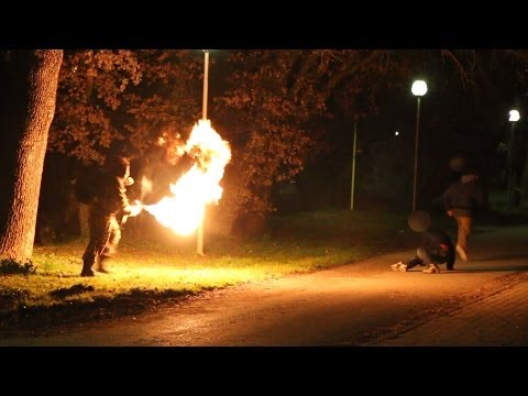 Flamethrower Prank