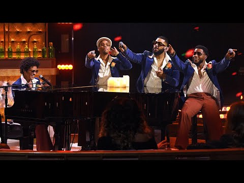 Bruno Mars, Anderson .Paak, Silk Sonic- Leave The Door Open (Live from the iHeartRadio Music Awards)