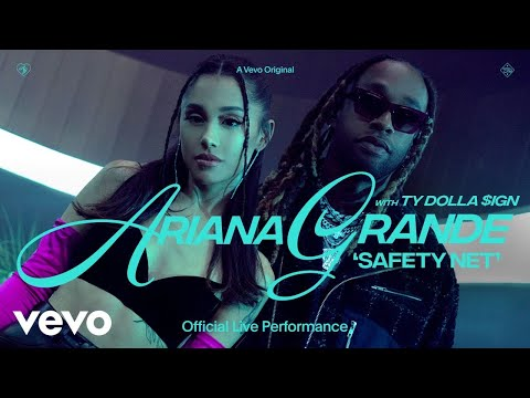 Ariana Grande – safety net ft. Ty Dolla $ign (Official Live Performance)   Vevo