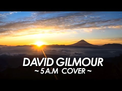 DAVID GILMOUR 『 5 A.M 』 COVER 2017 All Instrument by miu